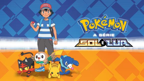 Assista Pokémon, a série: Sol e Lua na TV Pokémon!