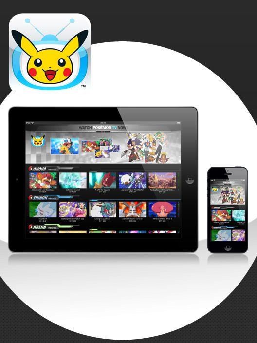 Assista à TV Pokémon em qualquer lugar!