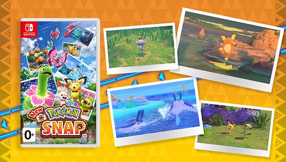New Pokémon Snap уже в продаже