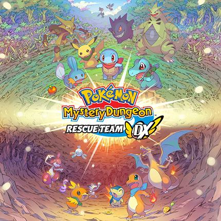 Видеоигра Pokémon Mystery Dungeon: Rescue Team DX уже здесь!