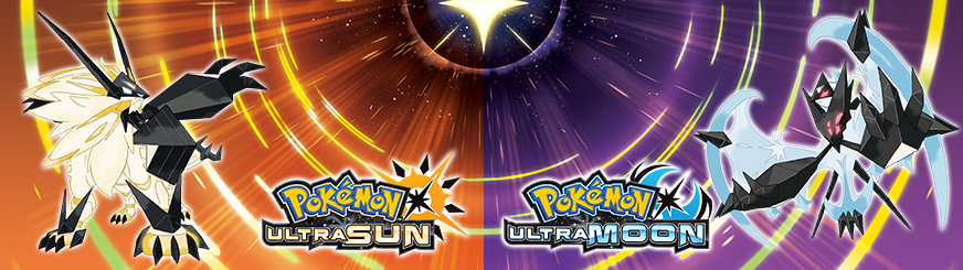 <em>Pokémon Ultra Sun</em> и <em>Pokémon Ultra Moon</em>
