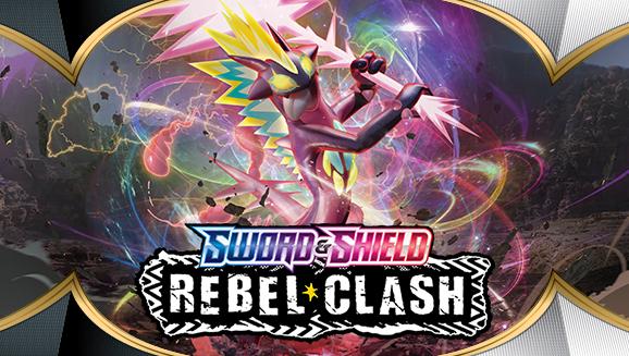Låt striderna utbryta i Sword & Shield—Rebel Clash