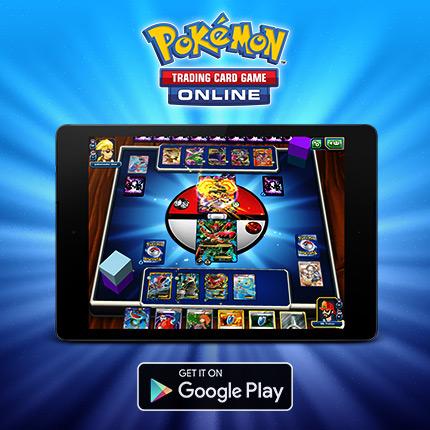 Officiell lansering av Pokémon TCG Online för Android