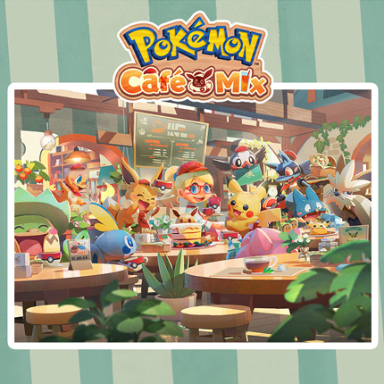 Servera lite roligheter i Pokémon Café Mix idag