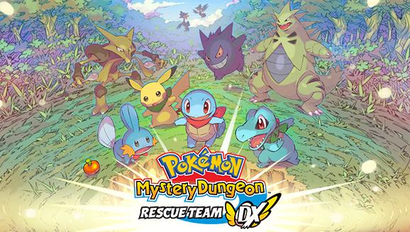 Pokémon Mystery Dungeon: Rescue Team DX är här