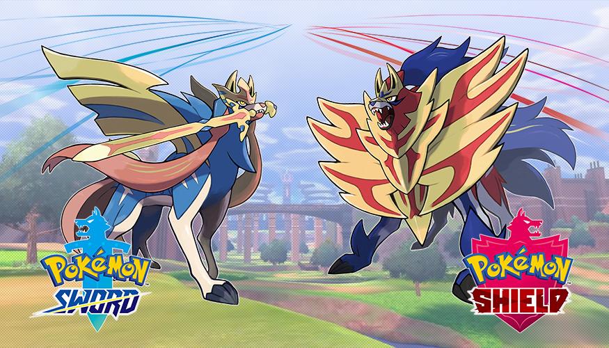 Pokémon Sword och Pokémon Shield ute nu!
