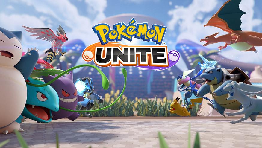 Sätt ihop ett lag och delta i striderna i Pokémon UNITE, ute nu till Nintendo Switch!