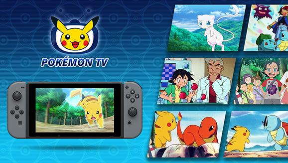 Upplev Pokémon TV på Nintendo Switch