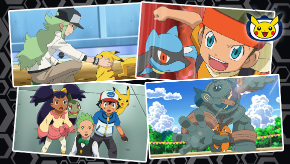 Utmana Unova-ligan på Pokémon TV