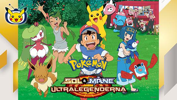 Titta på <em>Pokémon Serien: Sol & Måne - Ultralegenderna</em> på Pokémon TV