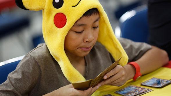 Empieza una liga Pokémon