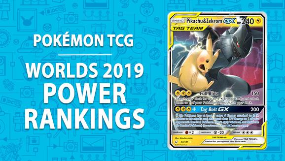 Pokémon Tcg Worlds Power Rankings Pokemon Com