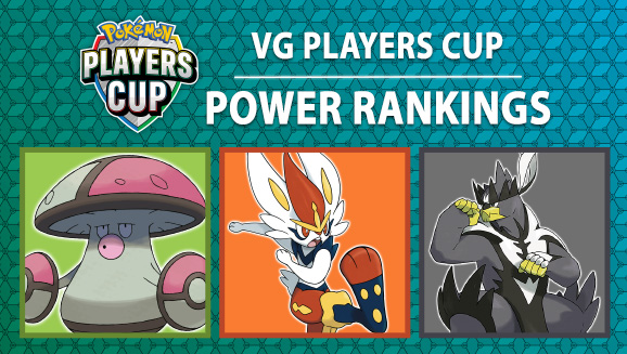 Pokémon Video Game Players Cup Power Rankings