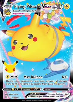 Flying Pikachu VMAX