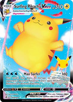 Surfing Pikachu VMAX