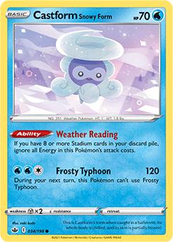 Castform Snowy Form