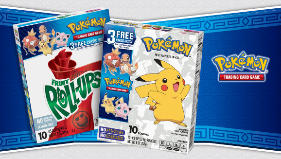 Enjoy a Snack and Some Exclusive Pokémon TCG Cards!