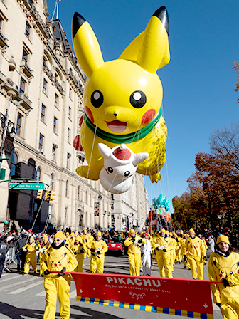 Pikachu Joins the Parade!