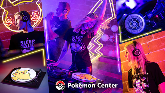 Rock Out with the Pokémon Center