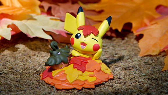 Leap into Autumn with Pikachu and Funko