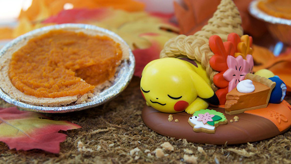 Give Thanks with Pikachu and Funko