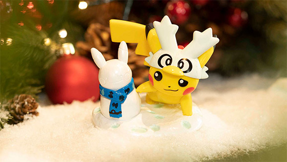 Pikachu and Funko Chill Out