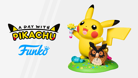 Ring In the New with Pikachu and Funko