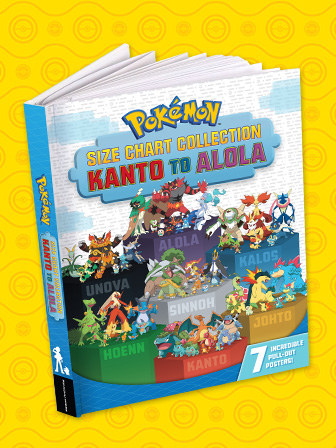 See How Pokémon Measure Up in This New Book