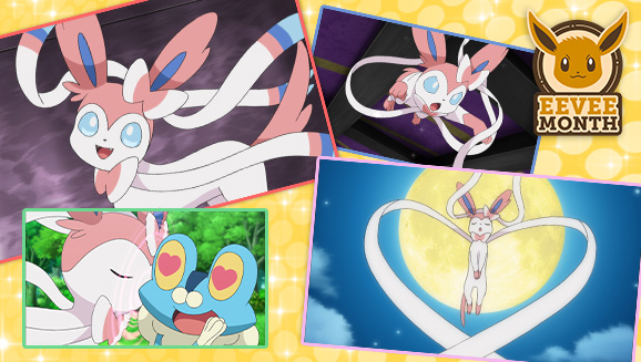 Sylveon Wraps Up Eevee Month on Pokémon TV