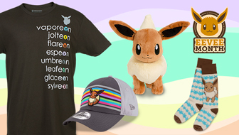 Eevee Is Everywhere in the Pokémon Center
