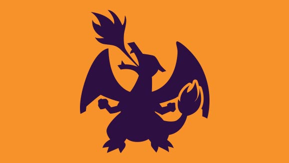 Charizard Silhouette Pattern—New for 2018