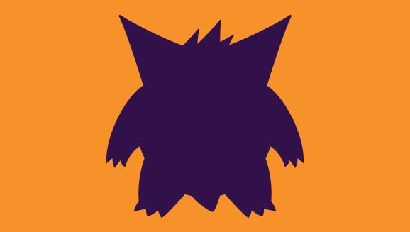 Gengar Silhouette Pattern—New for 2018