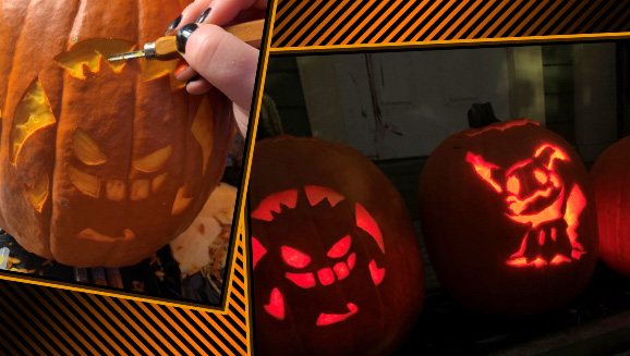 Pokémon Pumpkin Halloween Stencils and Carving Tips