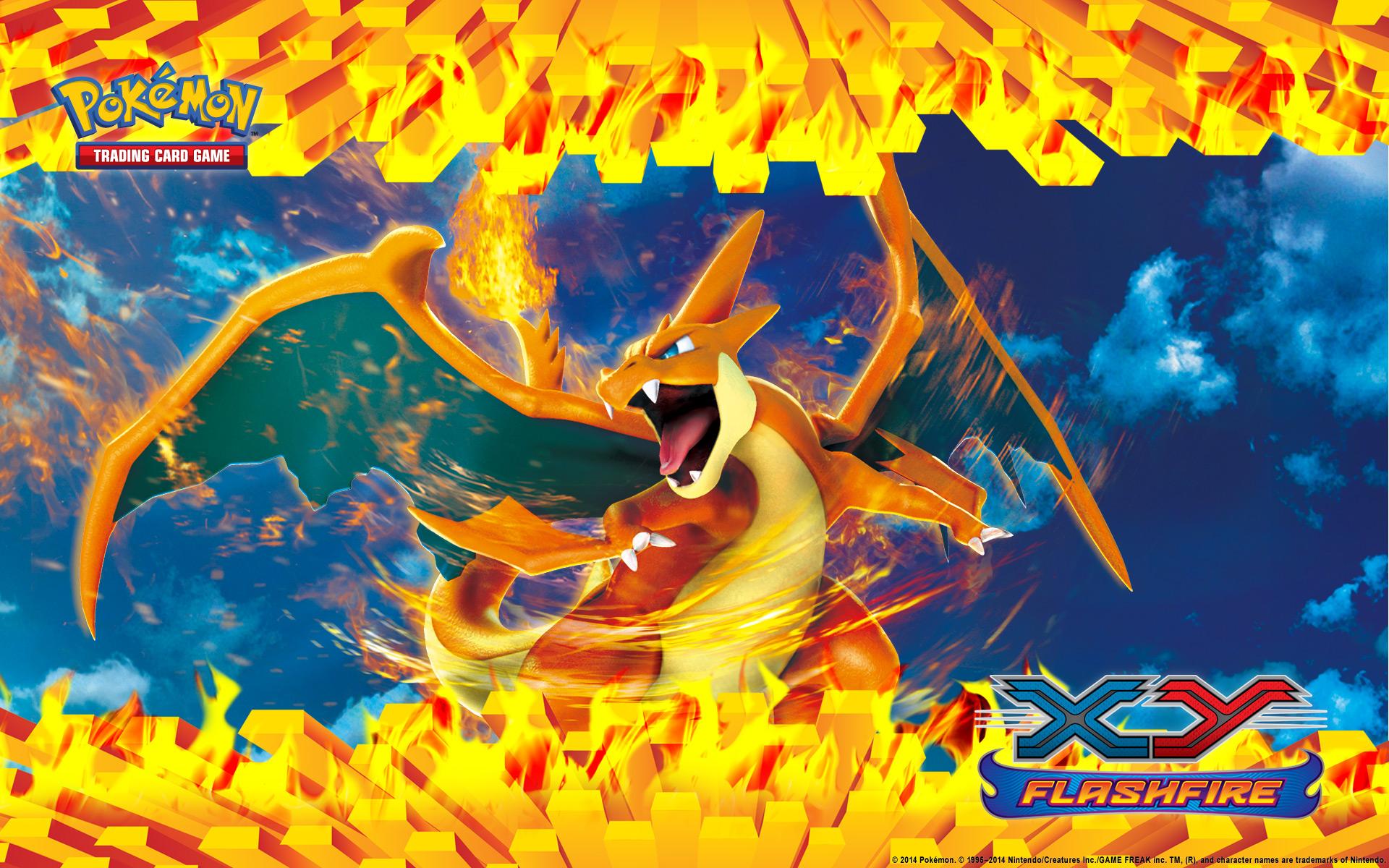Pokemon TCG XY Flashfire Charizard Wallpaper