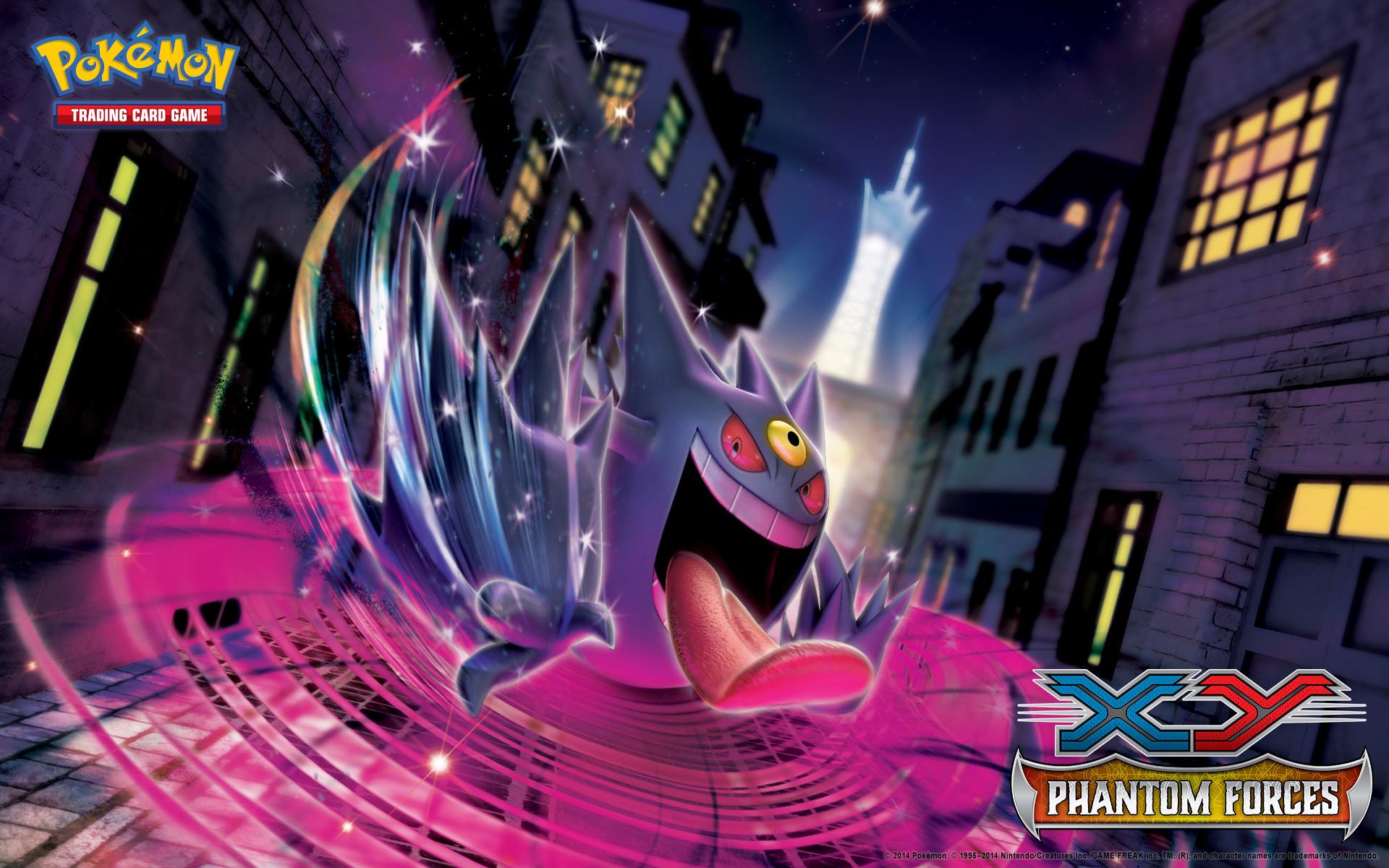 Pokemon TCG EmXY Phantom Forces Em Gengar Wallpaper