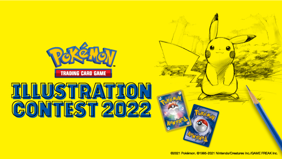 Draw to Win in the Pokémon TCG Illustration Contest 2022