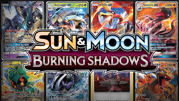 Browse the Cards of <em>Sun & Moon—Burning Shadows</em>!