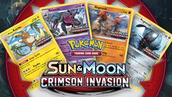 Sun & Moon—Crimson Invasion Prerelease Tournament Info