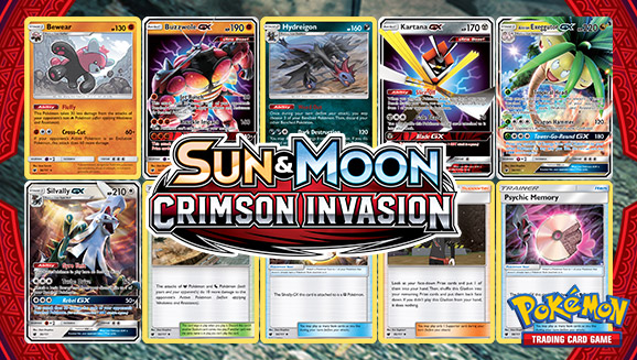 Browse the Cards of <em>Sun & Moon—Crimson Invasion</em>!