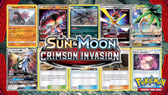Browse the Cards of Sun & Moon—Crimson Invasion!