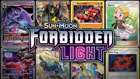 Browse the Cards of <em>Sun & Moon—Forbidden Light</em>!