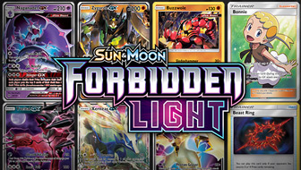 Browse the Cards of Sun & Moon—Forbidden Light!
