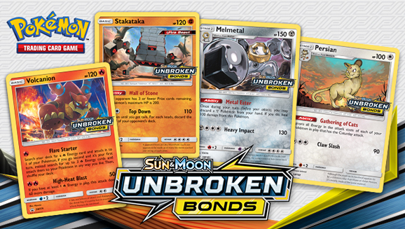 Be the First to Get <em>Sun & Moon—Unbroken Bonds</em> at Prerelease Tournaments