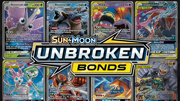 Browse the Cards of<br /><em>Sun & Moon—Unbroken Bonds</em>!