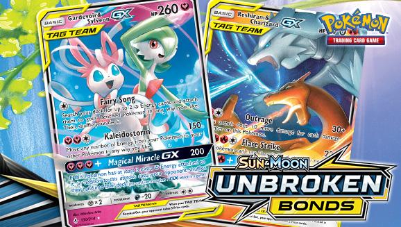 The TAG TEAM Cards of <em>Sun & Moon—Unbroken Bonds</em>