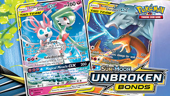 The TAG TEAM Cards of Sun & Moon—Unbroken Bonds
