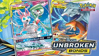 The TAG TEAM Cards of Sun & Moon—Unbroken Bonds