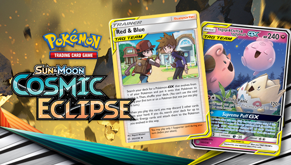 New Cosmically Cool Pokémon TCG Cards