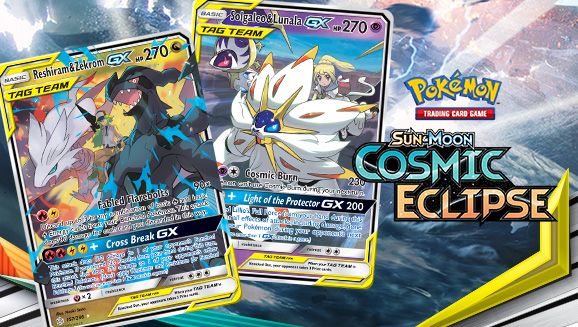 Pokémon and Trainers Come Together for the Cosmic Eclipse