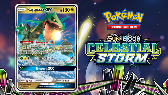 Take a Dragon Break with Rayquaza-<em>GX</em>